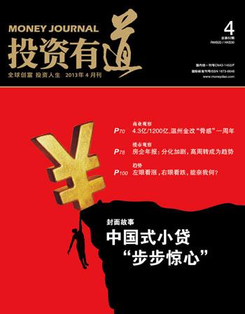 《投资有道》杂志2013年4月刊封面