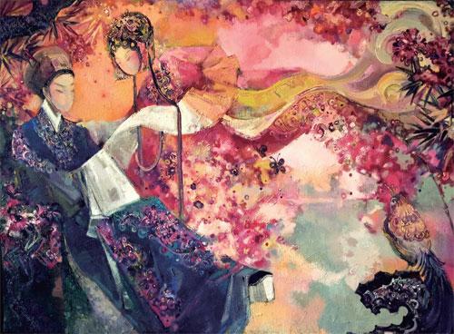 叶圣琴:用爱诠释艺术的才女子