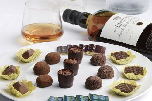 巧克力遇上葡萄酒