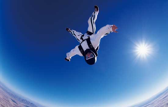 跳伞:像鸟儿一样飞过