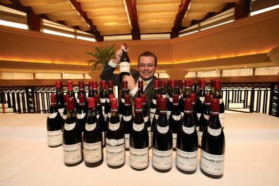 红酒拍卖:世界中心将移位