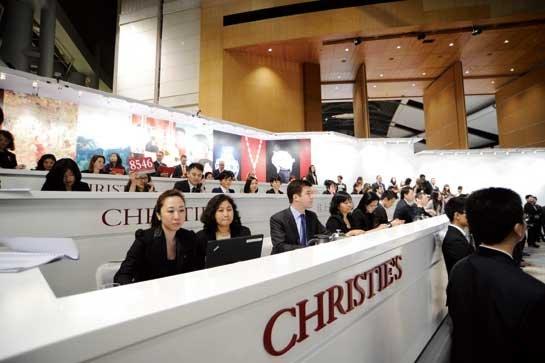 国际天价艺术品与中国