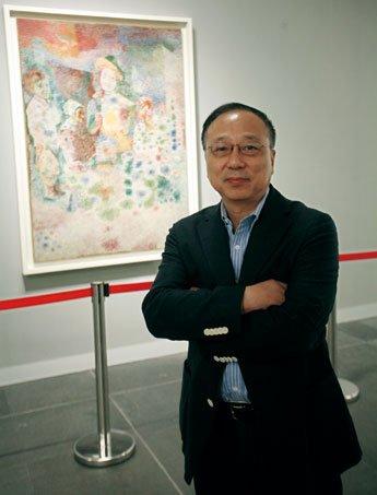 2011毕加索中国大展策展人谢定伟