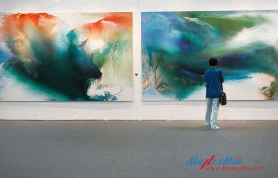 2011上海艺博会现场