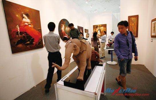 2011上海当代展现场
