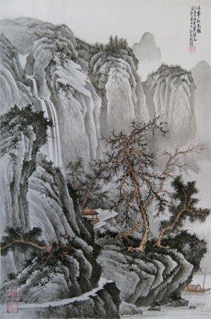 山水画家杨建华的传承与创新